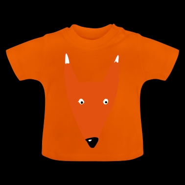 Fox Kopf mam - Baby T-Shirt