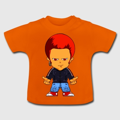 Little gangster seriefigur - Baby-T-shirt