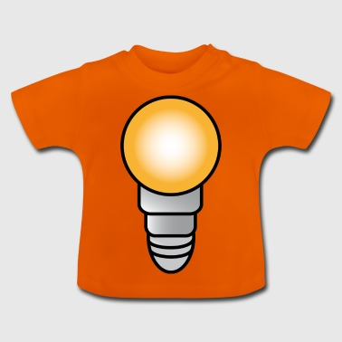 Light bulb Electricity | Electricity | Electrician | Electric wire - Baby T-Shirt