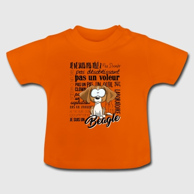I Am Beagle - Lemon NL - Baby T-shirt