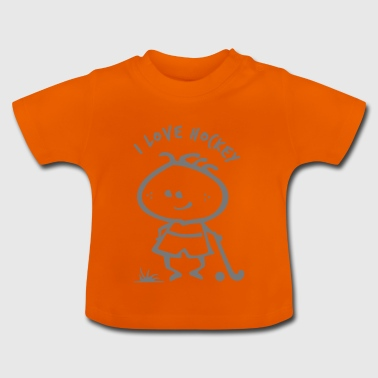 hockey sobre Boy - Camiseta bebé