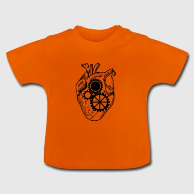 Herz in Gang - Baby T-Shirt