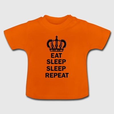 Eat Sleep sonno Repeat - Maglietta per neonato