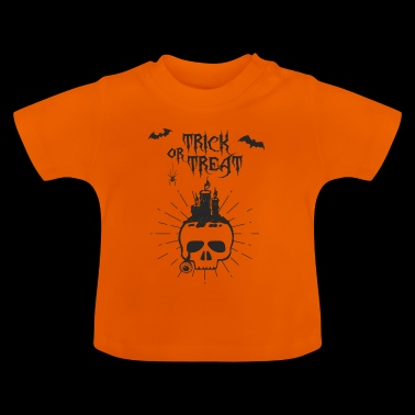 Trick or treat skallen - Baby-T-skjorte