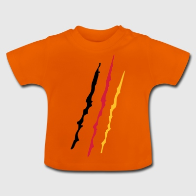 2541614 14939362 Germany scratch - Baby T-Shirt