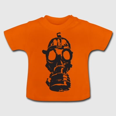 gas mask - Baby T-Shirt