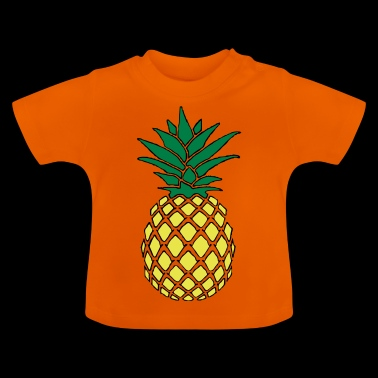 Funky pineapple - Baby T-Shirt