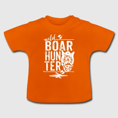 Wild Boar Hunter - T-shirt Bébé