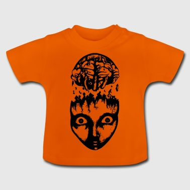 Black brain pull - Baby T-Shirt