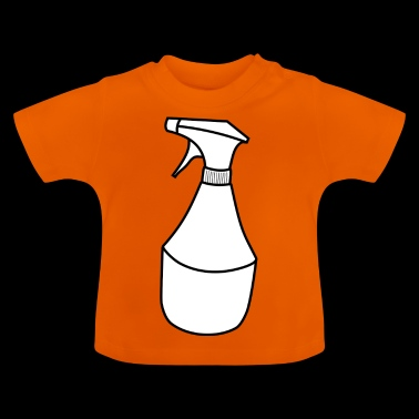 cleaning cleaning cleaning woman broom wischmop73 - Baby T-Shirt