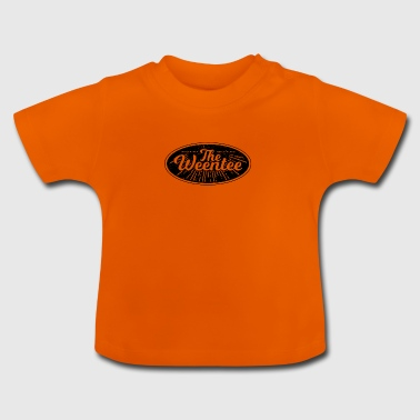 """The Weentee"" Vintage Style - Baby T-Shirt"
