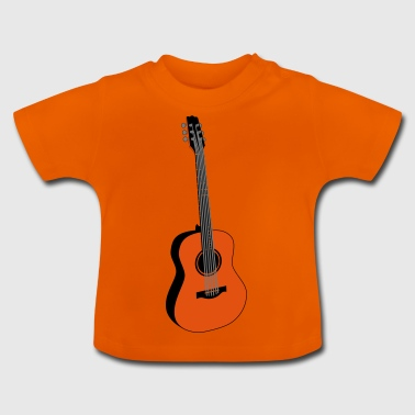 guitare - T-shirt Bébé