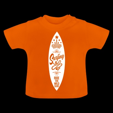 surfing - Baby T-shirt