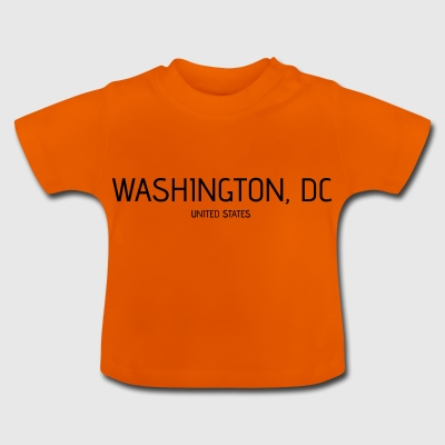 Washington DC - T-shirt Bébé