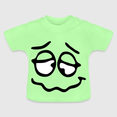 Funny Face, Cartoon Face, Trickfilm, Smiley - Baby T-Shirt