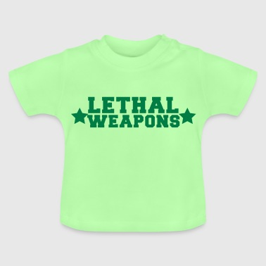 lethal weapons with star  - Baby T-Shirt