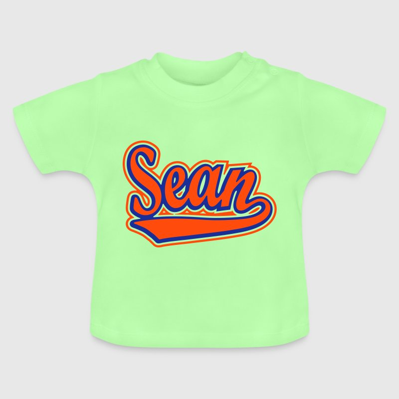 Sean - T-shirt personalised with your name - Baby T-Shirt