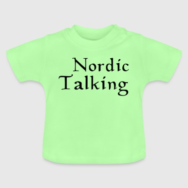 nordic talking - Baby T-Shirt