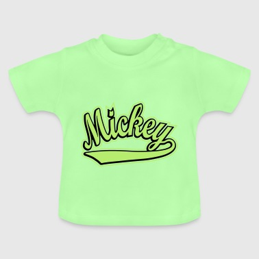Mickey - T-shirt personalised with your name - Baby T-Shirt