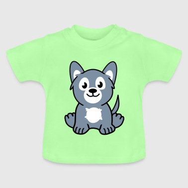 young wolf - Baby T-shirt