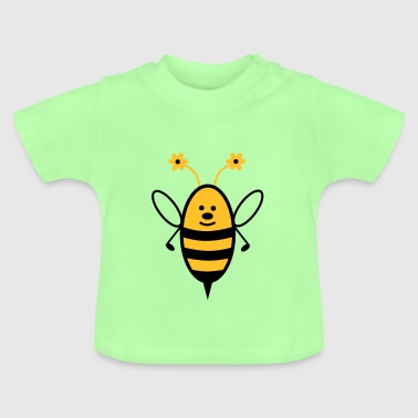 Bee with flower feeler - Baby T-Shirt
