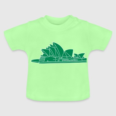 Opera House in Syndey 2 - Baby T-Shirt