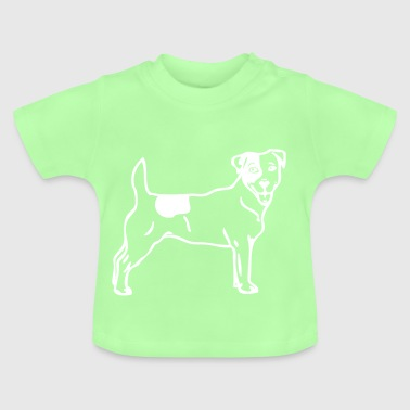 jackrussel - www.dog-power.nl - Baby T-Shirt