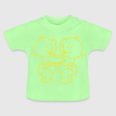 twin boys © - Baby T-Shirt
