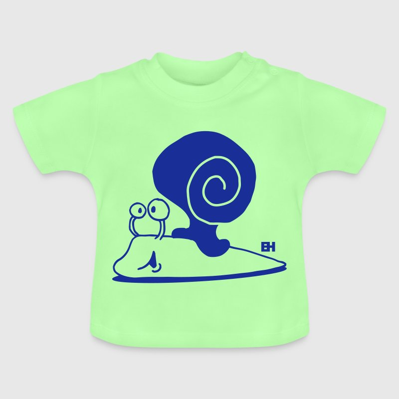 Escargot - T-shirt Bébé