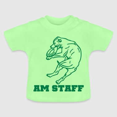 stafford © - www.dog-power.nl - Baby T-shirt