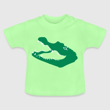 crocodile alligator - T-shirt Bébé