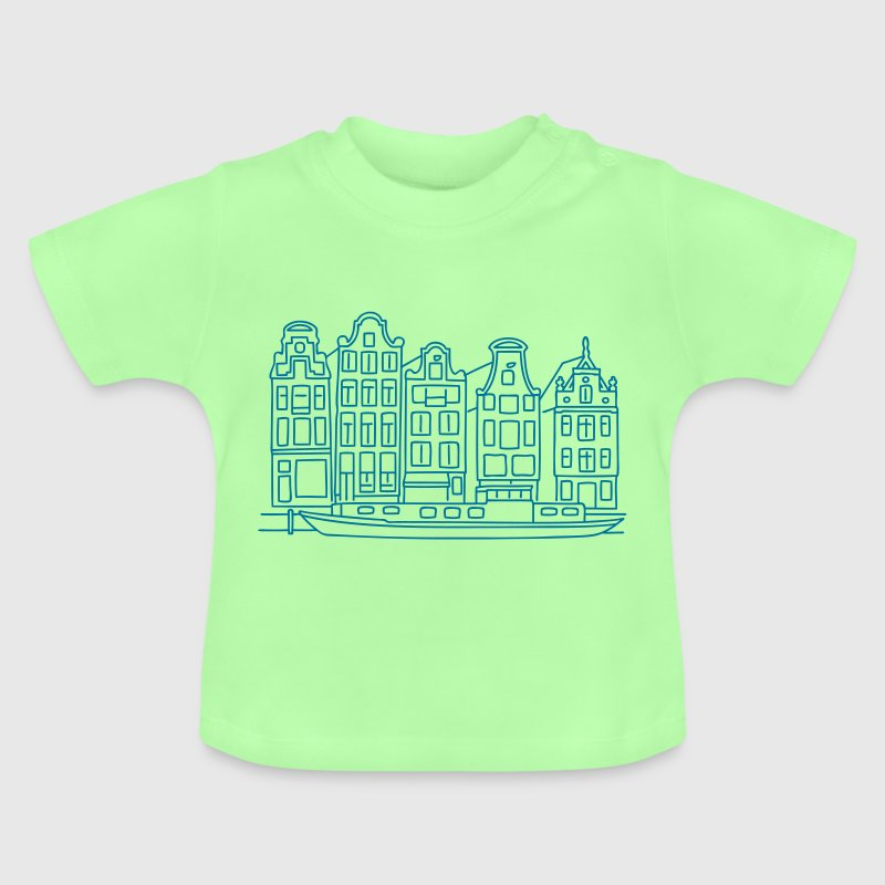 Amsterdam Canal houses - Baby T-Shirt