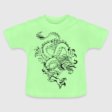 dragon chinois 2 by DK - T-shirt Bébé