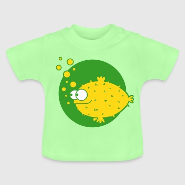 Balloon fish, puffer fish, sushi, Japan, fisherman - Baby T-Shirt