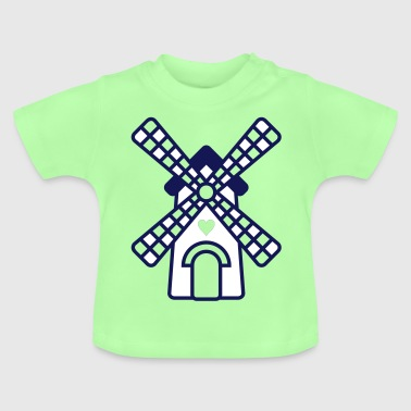 Holland hollands molentje - Baby T-shirt