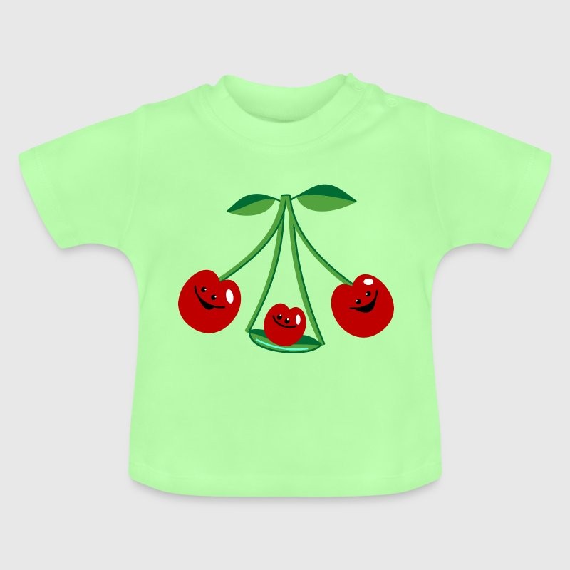 Three cherries - Baby T-Shirt