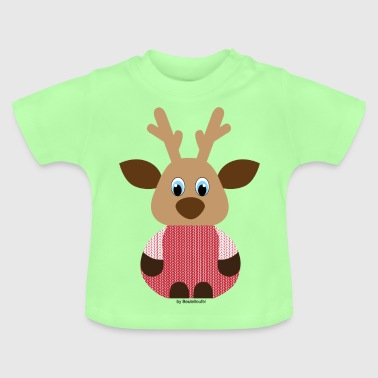 Elch Strick - Baby T-Shirt
