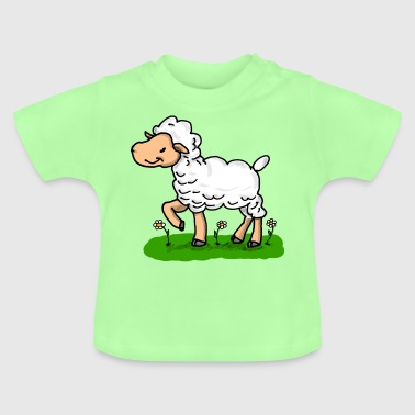 Schaf - Sheep - Baby T-Shirt