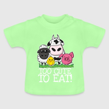Too cute to eat - Baby T-Shirt
