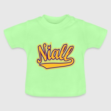 Niall - T-shirt personalised with your name - Baby T-Shirt