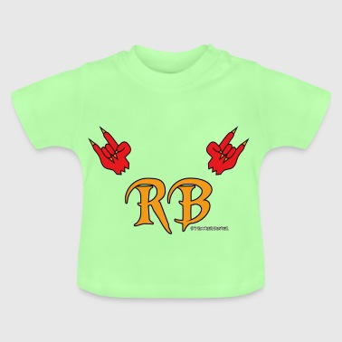 Devil Horns Meets RB - Baby T-Shirt