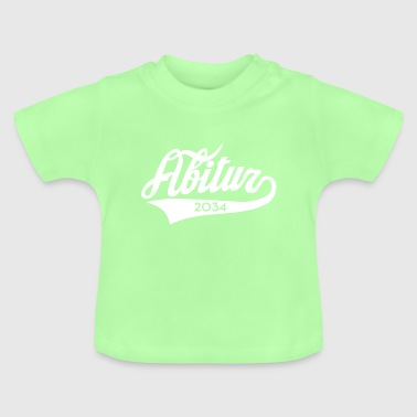 Abitur 2034 Classic American Style - Baby T-Shirt