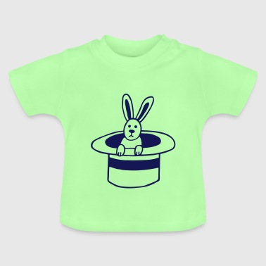 Rabbit in the cylinder - Baby T-Shirt