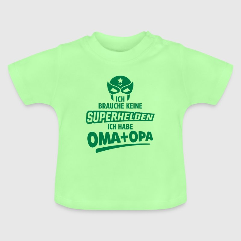 superhelden oma opa - Baby T-Shirt