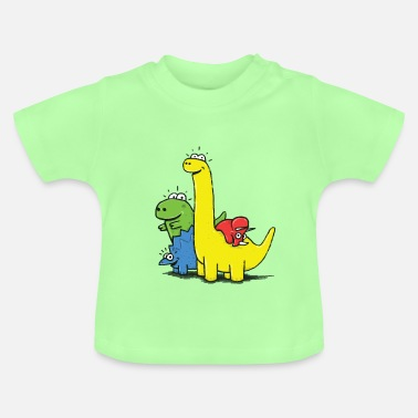 Collections Dino Gang, Colored - Camiseta bebé