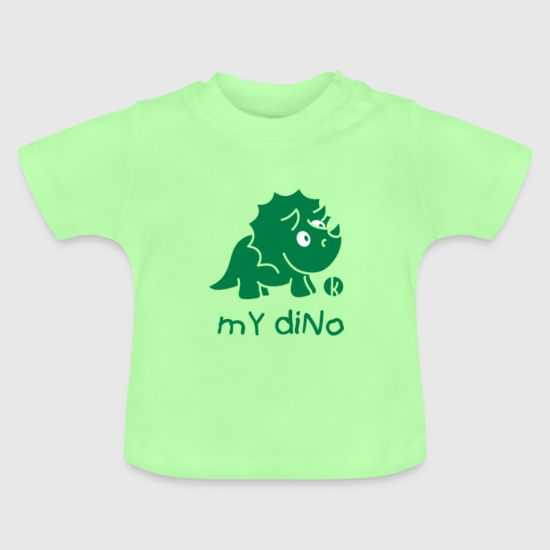 Dinosaurier Triceratops (c) - Baby T-shirt