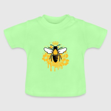 A bee with a crown - Baby T-Shirt