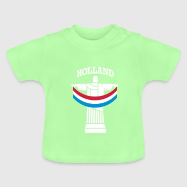 Brazilië Holland WK 2014 - Baby T-shirt