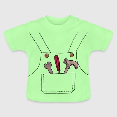 suchbegriff 39 handwerker 39 baby t shirts online bestellen spreadshirt. Black Bedroom Furniture Sets. Home Design Ideas