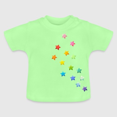 Sternchen Origami - Baby T-Shirt